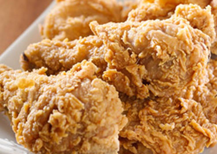 الصورة الرئيسية لوصفةوصفة دجاج مقلي مقرمش