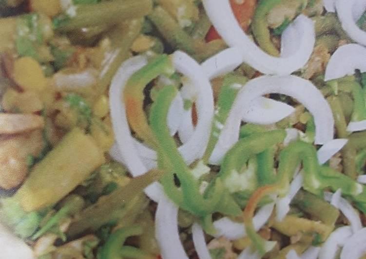 الصورة الرئيسية لوصفةالخضار المكسيكي بالدجاج