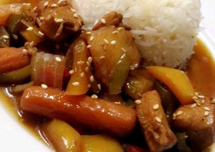 الصورة الرئيسية لوصفةدجاج صيني بالصويا