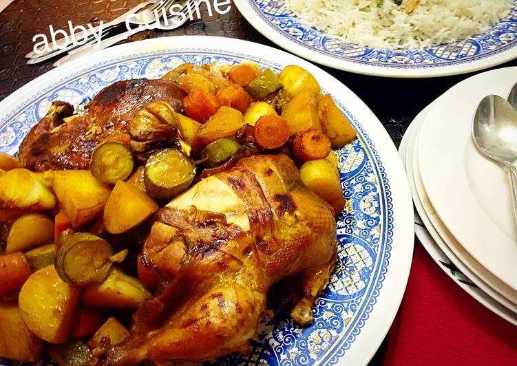 الصورة الرئيسية لوصفةدجاج مع الصويا والبرتقال