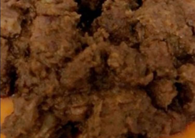 الصورة الرئيسية لوصفةطريقة عمل لحم بصلصة الصويا والكاتشب