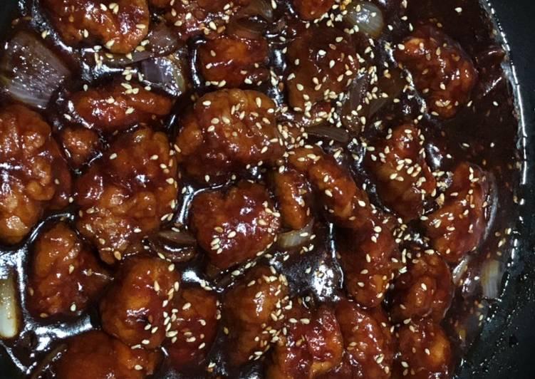 الصورة الرئيسية لوصفةدجاج صيني صويا صوص