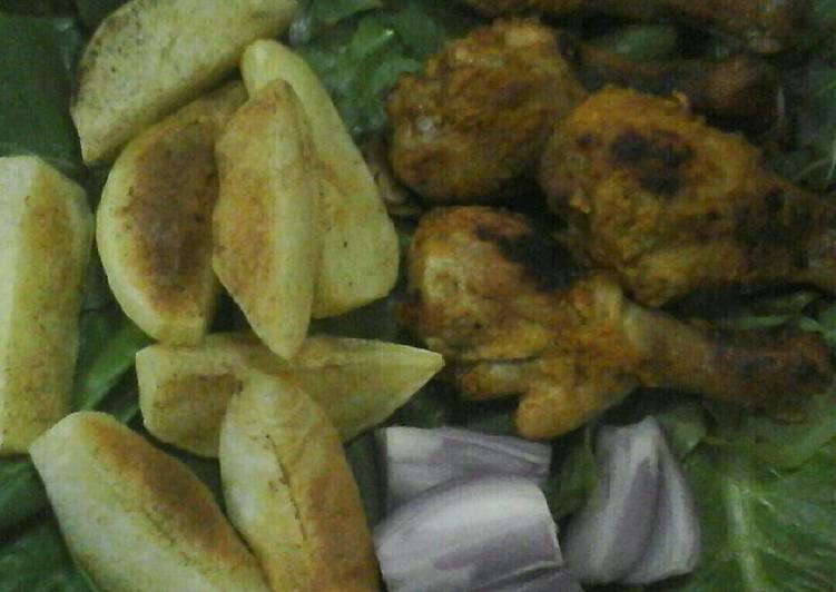 الصورة الرئيسية لوصفةدجاج مقلي بالزنجبيل والثوم