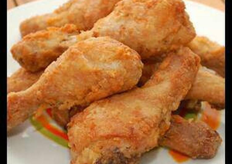 الصورة الرئيسية لوصفةدجاج مقلي مثل المطاعم
