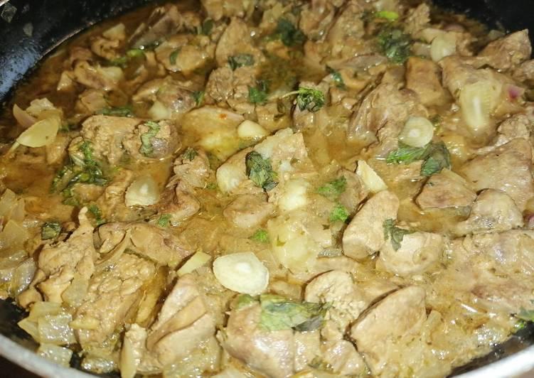 الصورة الرئيسية لوصفةقلايه كبده دجاج مع البصل والثوم والصويا صوص والطعم رهيب