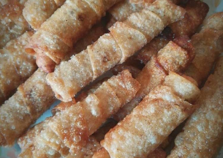 الصورة الرئيسية لوصفةلفائف الدجاج المقلية chicken roll