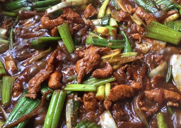 الصورة الرئيسية لوصفةدجاج صيني بالصويا الحلوة 😻