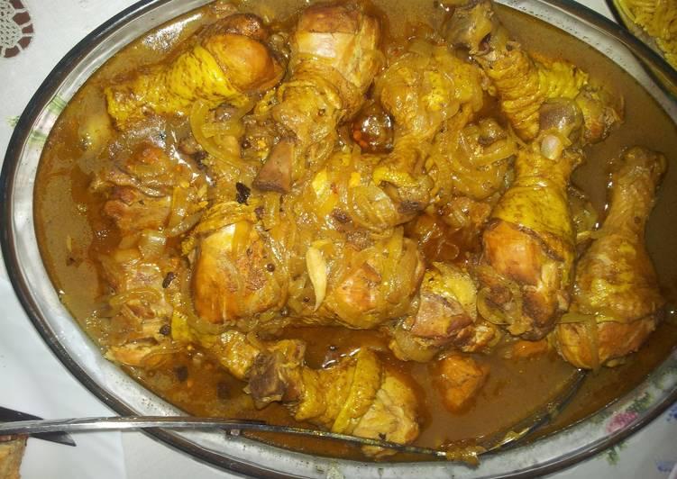 الصورة الرئيسية لوصفةطريقة عمل دجاج كورما أو الدجاج المقلي