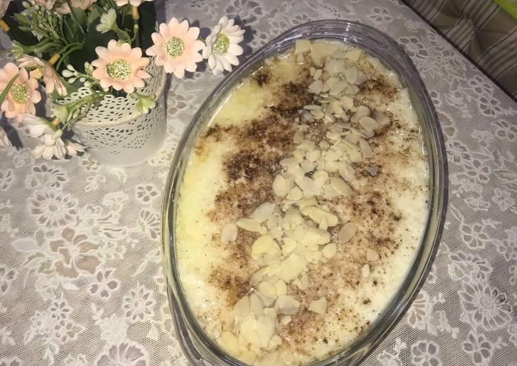 الصورة الرئيسية لوصفةأرز بالحليب مع السمن