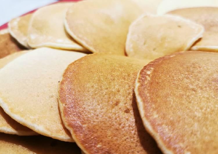 الصورة الرئيسية لوصفةبانكيك بطريقتي لذيييييذ بنكهة جوز الهند 🥞 1