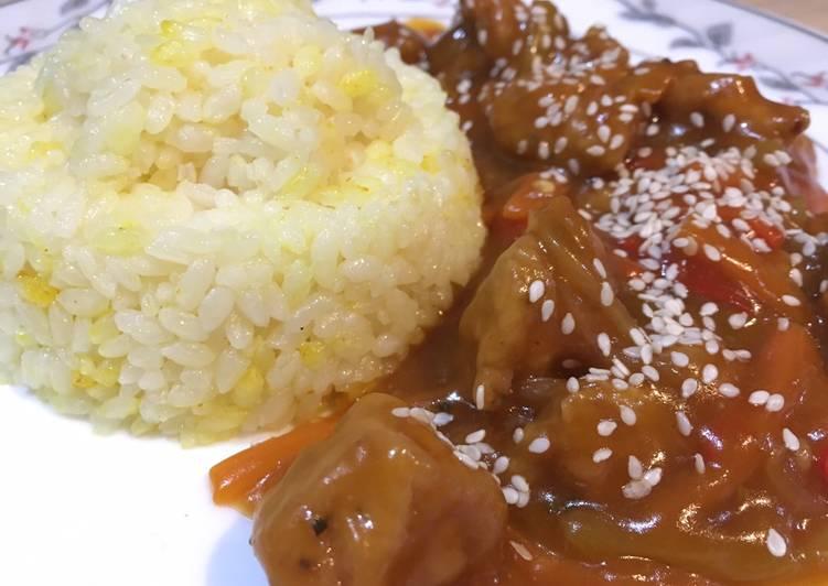 الصورة الرئيسية لوصفةدجاج صيني بالصويا مع الارز 1