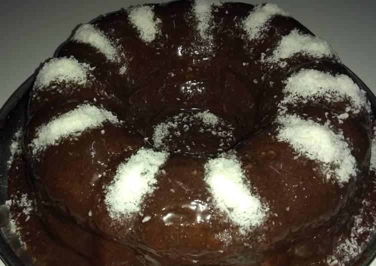 الصورة الرئيسية لوصفةكيكة اللبن بالشوكولاتة 1