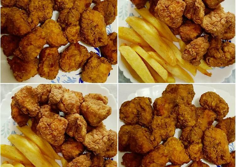 الصورة الرئيسية لوصفةقطع فيلية الدجاج المقلية شهية ولذيذة 🐔🐔🐔😋😋😋 1