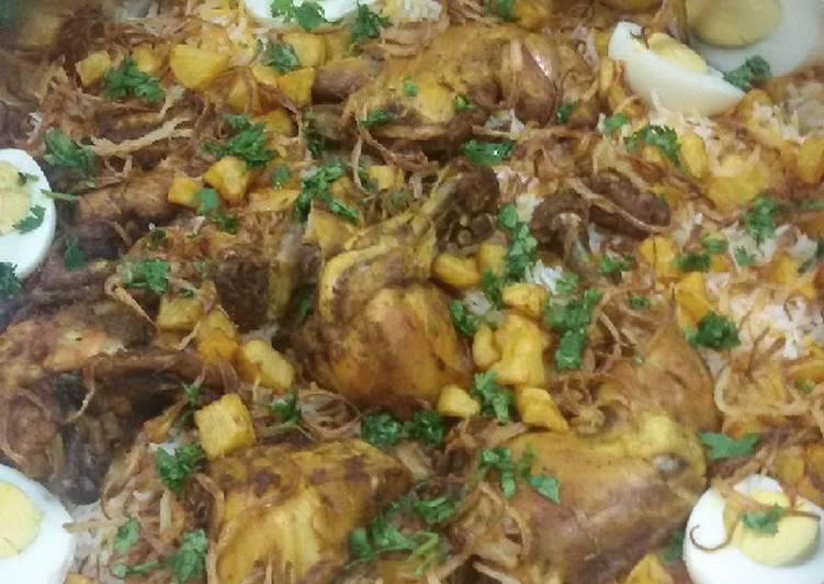 الصورة الرئيسية لوصفةدجاج مبهر مقلي لذيذ 🐔 1