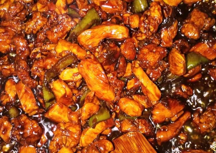 الصورة الرئيسية لوصفةصدور الدجاج مع صلصة الصويا المعتدلة 1