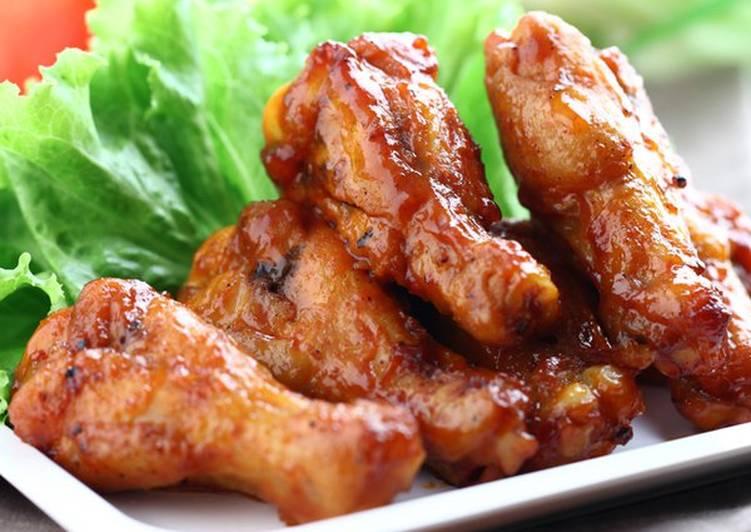 الصورة الرئيسية لوصفةطريقة عمل اجنحة الدجاج بصلصة الصويا 1