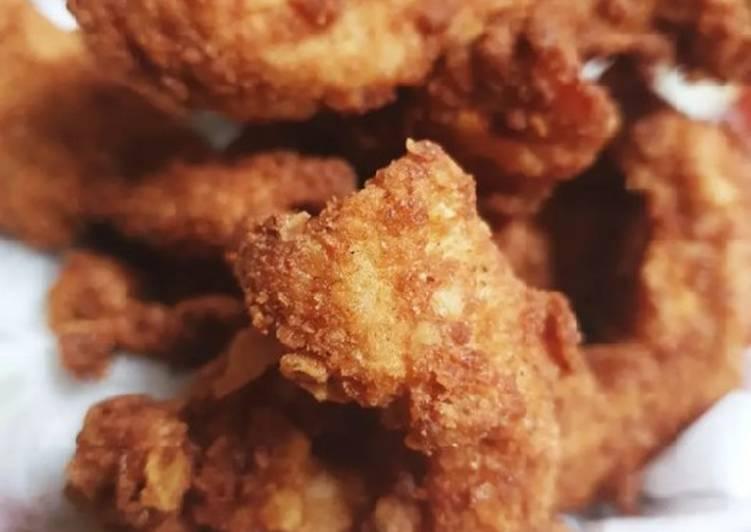 الصورة الرئيسية لوصفةصدور الدجاج المقلية بفتات الدوريتوس وشيبس الخل 1