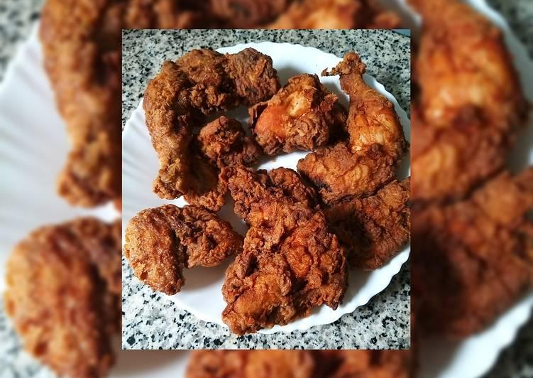 الصورة الرئيسية لوصفةدجاج مقلي على الزيت 1