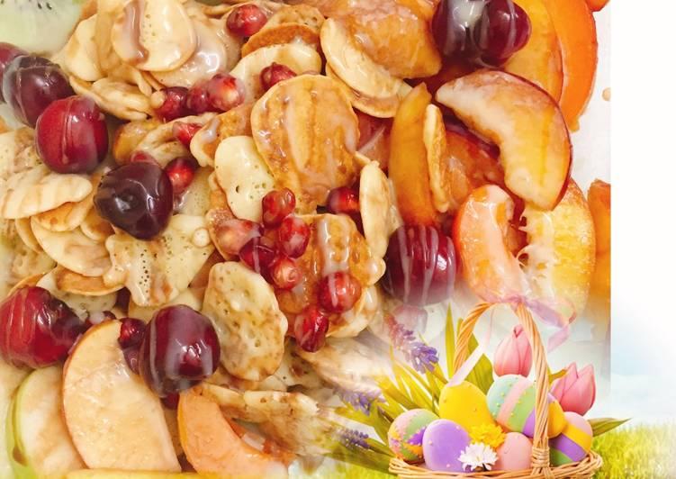 الصورة الرئيسية لوصفةمايكرو بان كيك panaakes cereals 1
